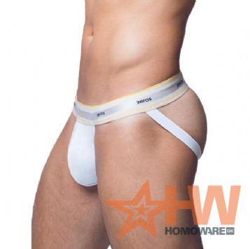 Adonis Jockstrap - White, Large