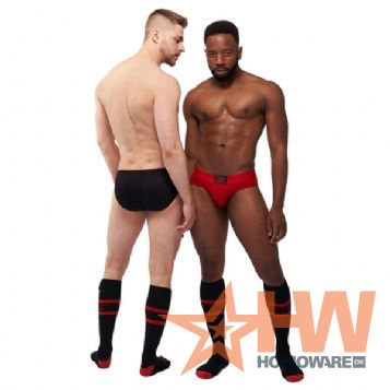 Mister B Urban Montreal punainen briefs, Red - X-Large