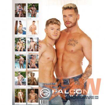 The Men of Falcon 2022 seinäkalenteri