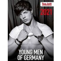 TeeJott Young Men of Germany 2021 seinäkalenteri