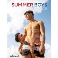 Cocky Boys: Summer Boys 2021 seinäkalenteri