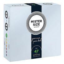 Mister Size - Pure Feel kondomit 36 kpl
