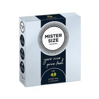 Mister Size - Pure Feel kondomit 3 kpl