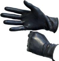 Mustat kumihanskat, lyhyt varsi