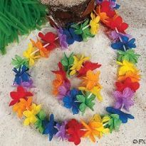 Sateenkaari Flower Power lei