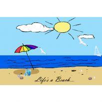 Life's a Beach... jääkaappimagneetti