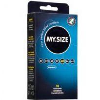 Club HomowareMY.SIZE, 10 kondomia, 60 x 193 mm