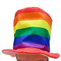Rainbow Top Hat