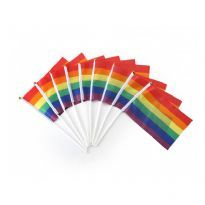 Small Prideflag on a stick