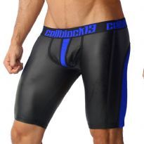 CellBlock 13 siniset Vector Zipper shortsit