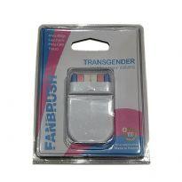 Fanbrush transsukupuolisten kasvomaali