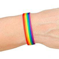 Pride fabric bracelet