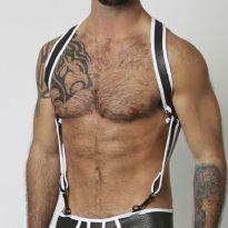 CellBlock 13 - valkoinen Gunner harness