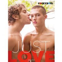 Just Love by Cocky Boys 2020 seinäkalenteri