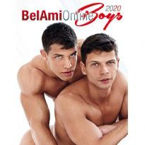 Bel Ami Online Boys 2020 seinäkalenteri