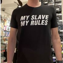 Mister B:n My Slave printtipaita