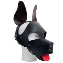 Club HomowareMister B: FETCH Shaggy koiranaamio, musta/ruskea