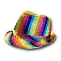 Gay pride sateenkaarihattu