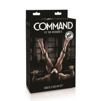 Sir Richard's Command Hogtie & Collar setti