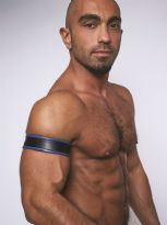 Mister B Leather Biceps Band