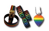 Pride ja sateenkaari aiheiset korut, Sateenkaari lävistyskorut edullisesti, Kaulakorut ja rannekorut Prideen sateenkaarilla