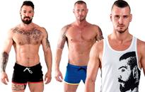Mister B:n korkealaatuisia vaatteita, Seksikkäitä vaatteita homoille, Mr B:n fetissihenkiset vaatteet arkeen, Seksikkäitä alusvaatteita