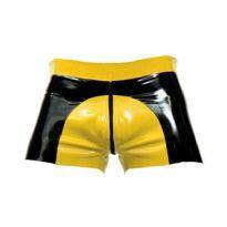 Mister B:n kumiset Saddle Shorts - keltainen