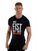 T-paita Will Fist on 1st Date