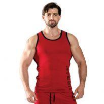 Mister B:n punainen hihaton paita