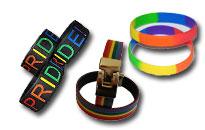 Laaja valikoima ateenkaari rannekoruja, Kauniit rainbow rannekorut edullisesti, Näytä tukesi homoille huomaamattomasti
