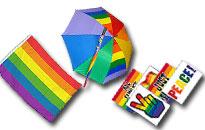 Sekalaisia Pride tuotteita, iso valikoima sateenkaarituotteita edullisesti