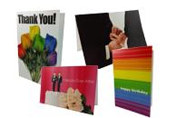 Onnittelukortteja homoille, Homoaiheisia onnittelukortteja, Onnitele miesparia hääpäivänä kunnon kortilla