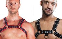 Valjaat nahasta nahkahomoille, Edulliset harnessit Helsinki Prideen, Finalndizationiin nahavaljaat edullisesti